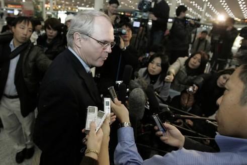 L'envoyé spécial des États-Unis en Corée du Nord,... (Photo: AP)