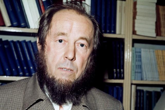 Alexandre Soljenitsyne... (Photo: archives AFP)