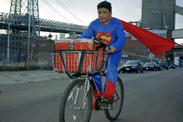 Superman. Noe Reyez, de l'État de Puebla, est... (Photo fournie par Dulce Pinzon)
