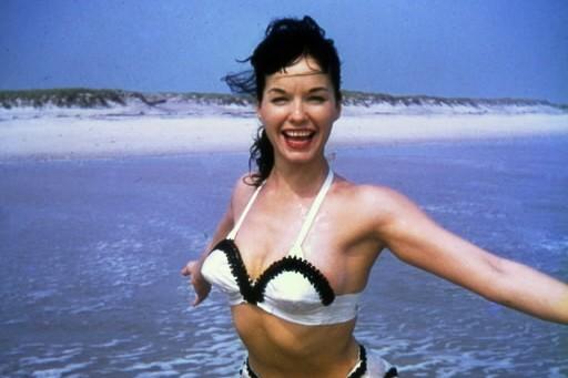 Bettie Page, la reine des pin-up américaines dont les photos suggestives ont... (Photo: AP)