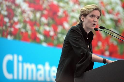 Nathalie Kosciusko-Morizet, secrétaire d'Etat française chargée de l'Ecologie.... (Photo: AFP)