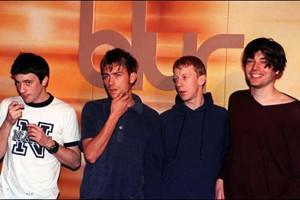 Dave Rowntree, Damon Albarn,Graham Coxon et Alex James...