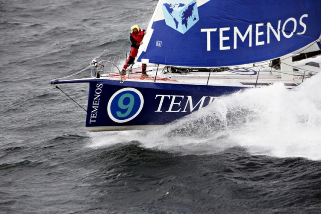 La tête de quille du monocoque de Dominique... (Photo: Jacques Vapillon, Vendée Globe)