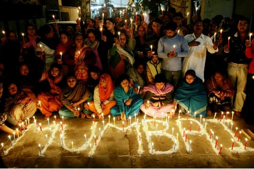 Les attentats perpétrés fin novembre à Bombay étaient initialement prévus le 27... (Photo: AFP)