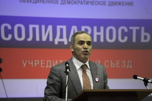 Garry  Kasparov... (Photo: AP)