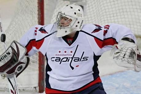 Le gardien, Simeon Varlamov.... (Photo: David Boily, La Presse)