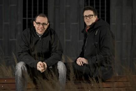 Frédéric Gauthier et Martin Brault, les fondateurs de... (Photo: David Boily, La Presse)