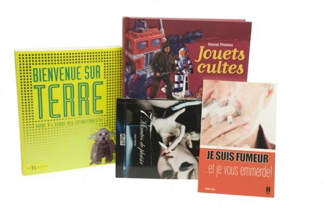 Voici donc notre petite sélection de livres «pas rapport» qui ne servent qu'à...
