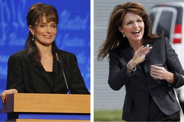 Tina Fey et Sarah Palin trônent au sommet... (Photos: Reuters)