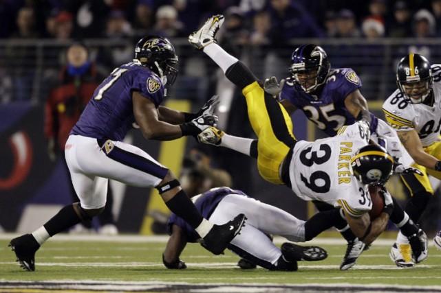 Les Steelers de Pittsburgh sont venus de l'arrière au quatrième quart pour un... (Photo: AP)