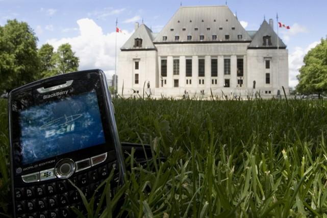 Dans l'affaire BCE, la Cour suprême a cassé... (Photo La Presse Canadienne)