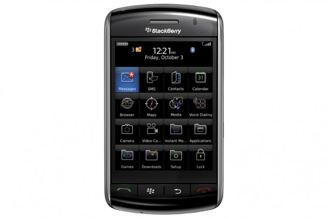 Le BlackBerry Storm de RIM...