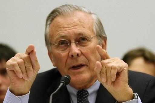Donald Rumsfeld... (Photo: Bloomberg)