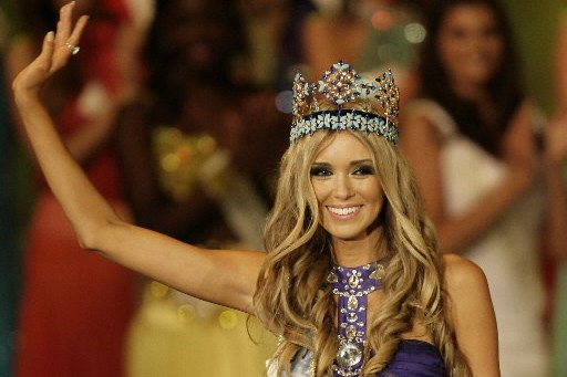 Le Russe Ksenia Soukhinova a été couronnée Miss... (Photo: Reuters)