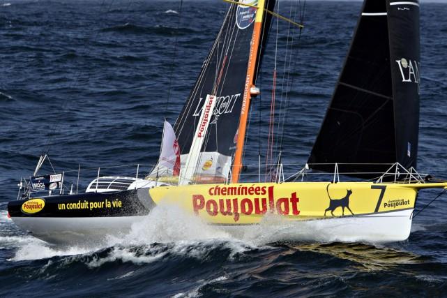 Les concurrents à l'arrière de la flotte vivent leur troisième période de gros...