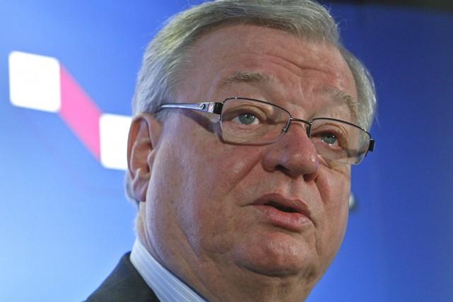Le maire de Laval, Gilles Vaillancourt, a présenté... (Photo: Robert Mailloux, La Presse)