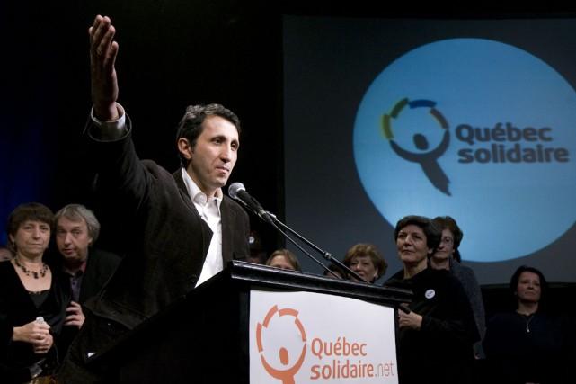 Le porte-parole de Québec solidaire, Amir Khadir, s'inspire de Mario Dumont... (Photo: André Tremblay, La Presse)
