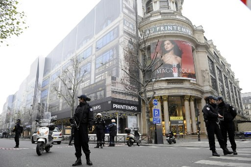 Le magasin Printemps... (Photo: AFP)