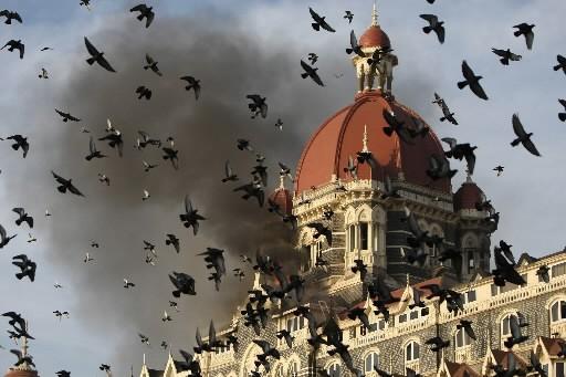 L'hôtel Taj Mahal... (Photo: AFP)