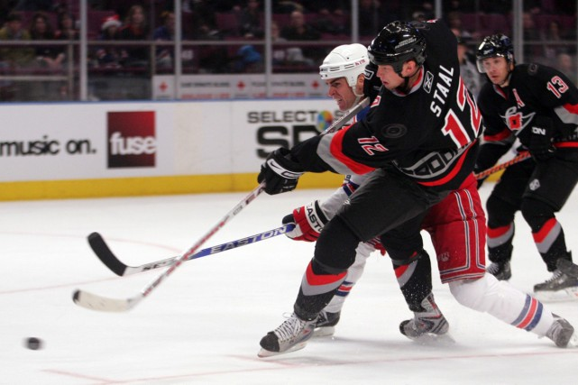 Eric Staal... (Photo: AP)
