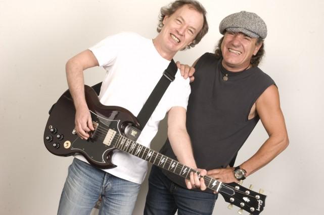 Les places pour le concert du groupe historique de hard rock AC/DC, prévu le 24... (Photo: AP)