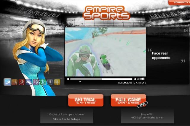 Le site Empire of Sports...