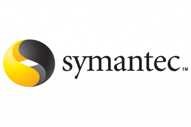 Le logo de Symantec...