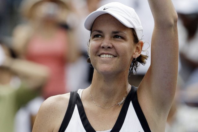 Lindsay Davenport... (Photo archives AP)