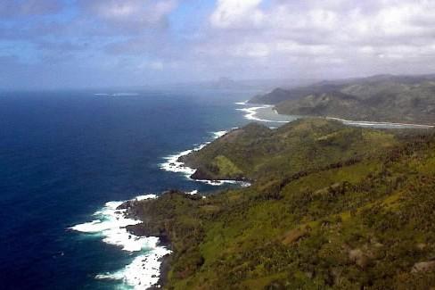L'océan Indien vu des cotes du parc national... (Photo: archives AP)