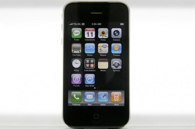 L'iPhone 3G d'Apple... (Reuters)