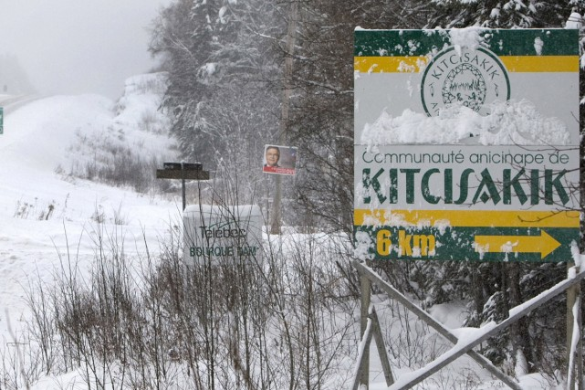 Le principal lieu de rencontre à Kitcisakik, c'est le restaurant-dépanneur qui... (Photo: Robert Skinner, La Presse)