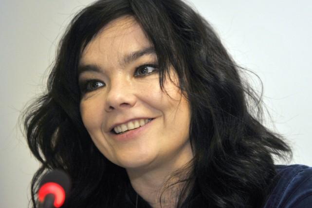 Björk... (Photo: AFP)