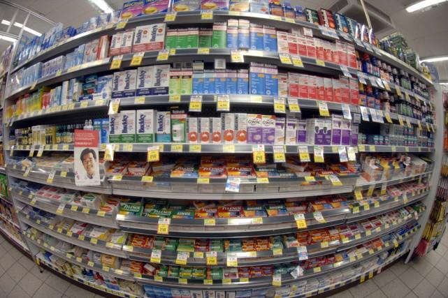 Les enfants de moins de 6 ans ne devraient plus consommer de médicaments en... (Archives La Presse)