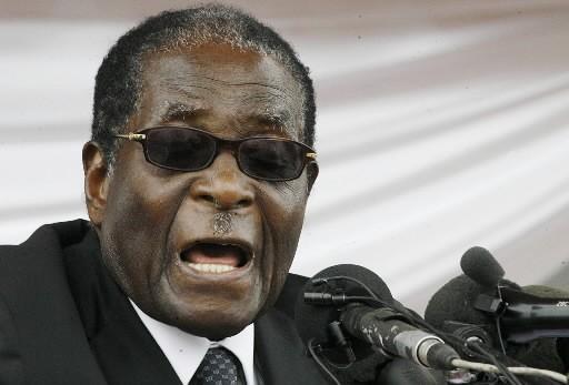 Robert Mugabe... (Photo: AFP)