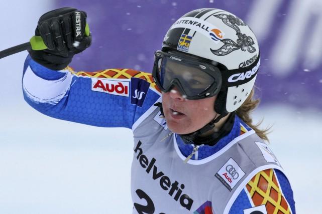 Anja Paerson... (Photo: AFP)