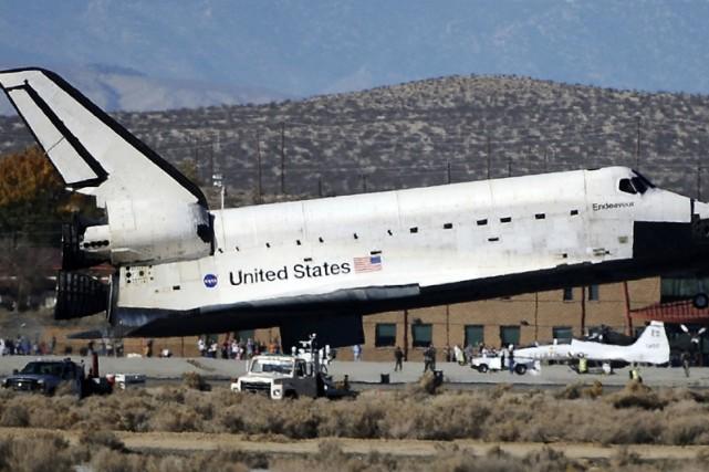 Retour sur Terre de la navette Endeavour, le... (Photo: Reuters)