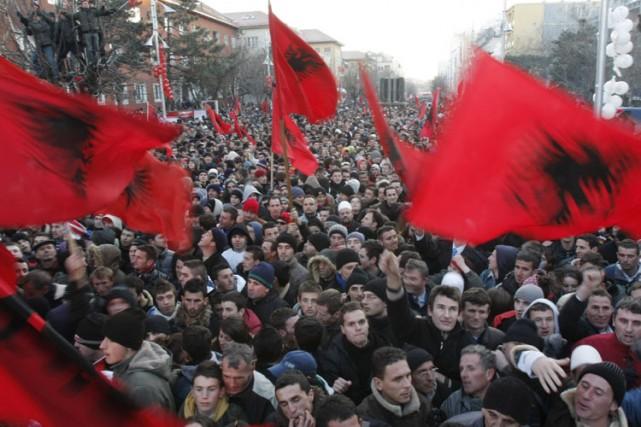 Le Kosovo est l'un des rares pays où... (Photo: AP)