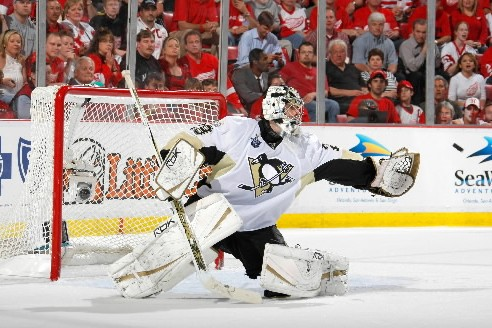 Marc-André Fleury... (Photo: AFP)