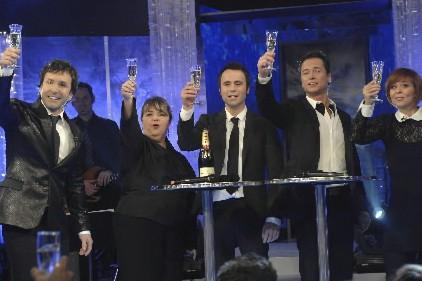 Les participants à l'émission de fin d'année de... (Photo: fournie par TVA)