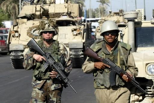 Trois soldats américains ont été tués mercredi dans un accident de véhicule... (Photo: AP)