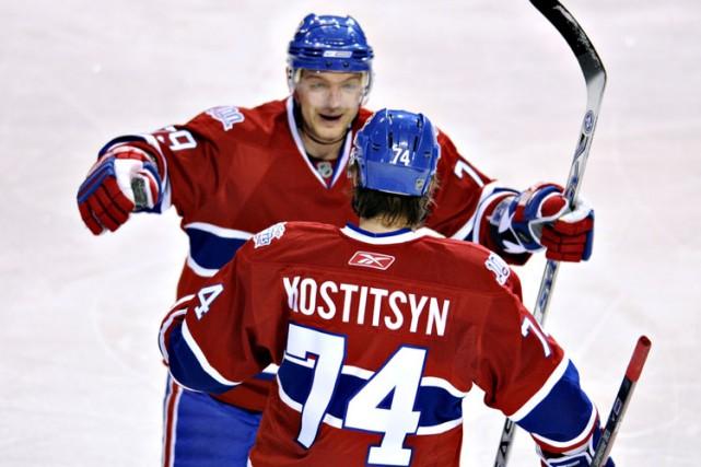 Première étoile du match avec deux buts, Sergei... (Photo: Bernard Brault, La Presse)