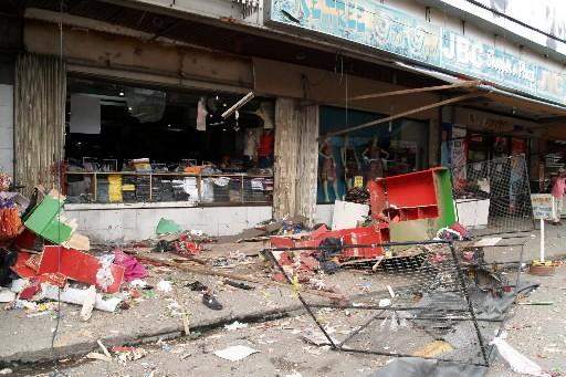 Deux engins explosifs ont sauté pratiquement en même... (Photo: AP)