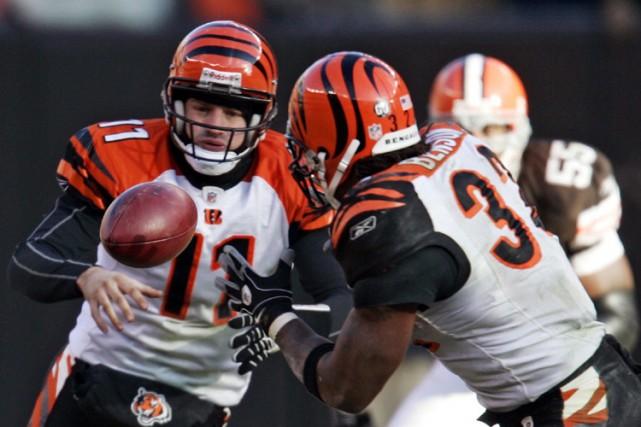 Les joueurs des Bengals de Cincinnati ont été en mesure de mettre de côté le... (Photo: AP)