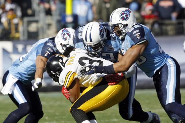 Les Titans du Tennessee ont lancé un message aux Steelers de Pittsburgh,... (Photo: Reuters)