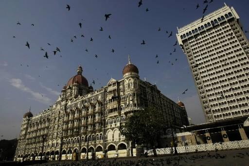L'hôtel Taj Mahal... (Photo : AP)