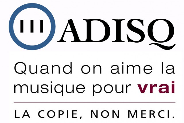 Un slogan de l'ADISQ...