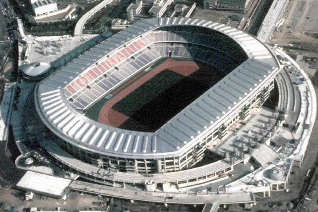 Le stade de Yokohama... (Photo: AFP)