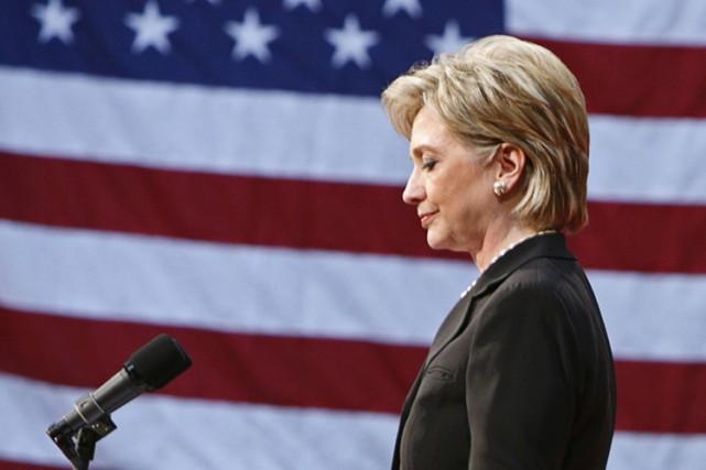 L'ex-candidate à la présidentielle américaine Hillary Clinton a renoncé à... (Photo: Reuters)