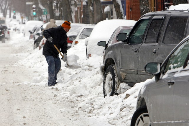 Les Montréalais ont été plus «gâtés» qu'à l'habitude... (Photo: Robert Mailloux, La Presse)