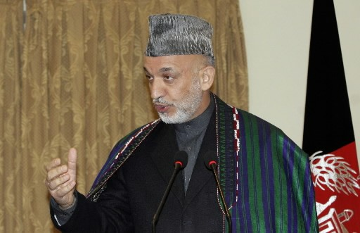 Hamid Karzai... (Photo: AP)